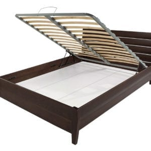 Bed WOODY Soft New 160x200 Wenge