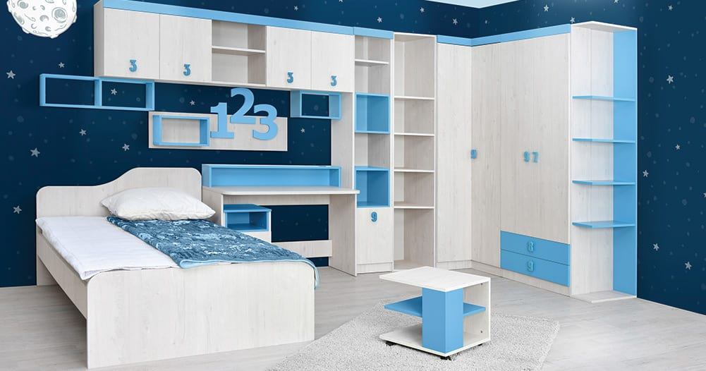 Childrens-room-Numero-Blue