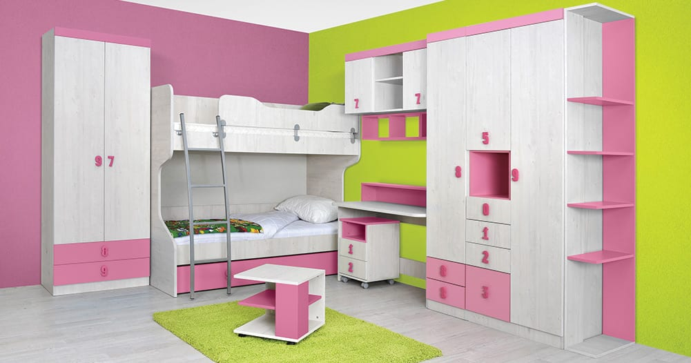 Childrens-room-Numero-Pink