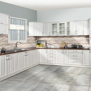 Bucatarii SPRING WHITE (front MDF)